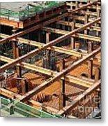 Underground Construction Project Metal Print