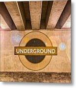 Underground Underground Metal Print