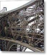 Underneath The Tour Eiffel Metal Print