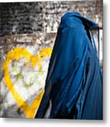Underneath... There Is My Heart Metal Print