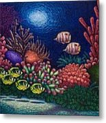 Undersea Creatures Vi Metal Print