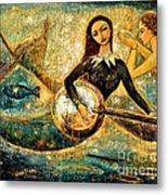 Undersea Metal Print