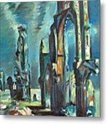 Underwater Cathedral By Chris Metal Print