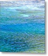 Underwater Colors Metal Print