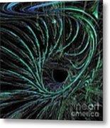Underwater Current Metal Print