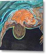 Underwater Swimmer. Part II     Metal Print