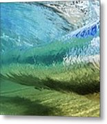 Underwater Wave Curl Metal Print by Vince Cavataio - Printscapes