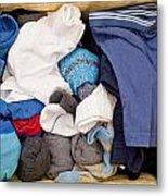 Underwear And Socks Metal Print by Tom Gowanlock