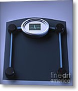 Unhealthy Weight Metal Print