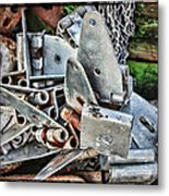 Unhinged Metal Print