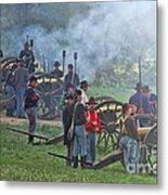 Union Artillery Battery Metal Print