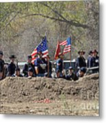 Union Artillery Embankment Metal Print