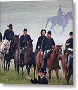 Union Cavalry On The March - Perryville Ky Metal Print