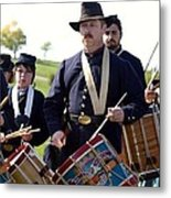 Union Drum Corps Perryville Ky Metal Print