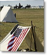 Union Encampment Metal Print