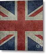 Union Jack 3 By 5 Version Metal Print