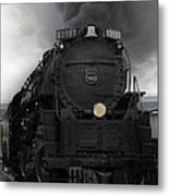 Union Pacific 3985 Metal Print