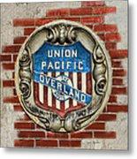 Union Pacific Crest Metal Print