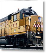 Union Pacific Yard Master Metal Print