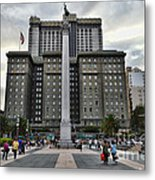 Union Square Courtyard Metal Print