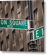 Union Square West I Metal Print