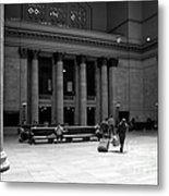 Union Station Chicago The Great Hall Metal Print
