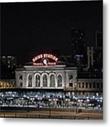 Union Station Denver Colorado 2 Metal Print