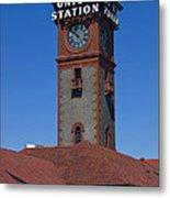 Union Station In Portland Oregon Metal Print