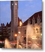 Union Station In Twilight Metal Print