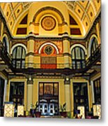 Union Station Lobby Larger Size Metal Print