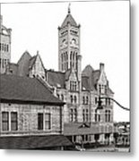 Union Station Nashville Tennessee   Metal Print by   Joe Beasley
