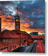 Union Station Portland Oregon Metal Print