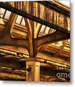 Union Station Roof Structure Metal Print