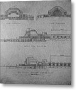 Union Terminal 1b Metal Print