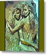 Unique Mothers Day Card Metal Print