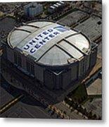United Center Chicago Sports 09 Metal Print