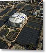 United Center Chicago Sports 10 Metal Print