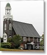United Methodist Church New Harbor Maine Metal Print