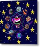 United Planets Of Eurotrazz Metal Print