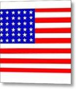 United States 30 Stars Flag Metal Print