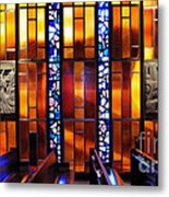 United States Air Force Academy Cadet Chapel Detail Metal Print