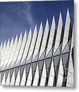 United States Airforce Academy Chapel Colorado Metal Print