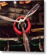 United States Airplane Museum Metal Print