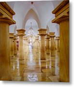 United States Capitol Crypt Metal Print