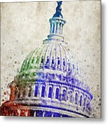 United States Capitol Dome Metal Print