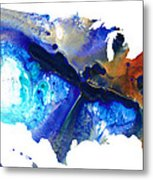 United States Of America Map 7 - Colorful Usa Metal Print