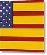 United States Of Iberia Metal Print