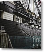 United States Ship Constellation Metal Print