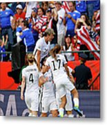 United States V Colombia Round Of 16 - Metal Print