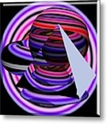 Univers Colors And Shapes Metal Print